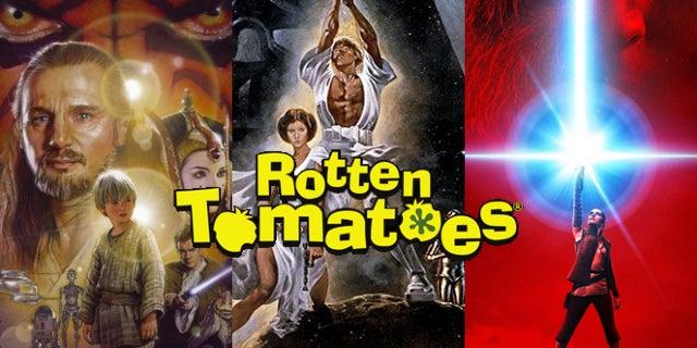 star wars saga rotten tomatoes