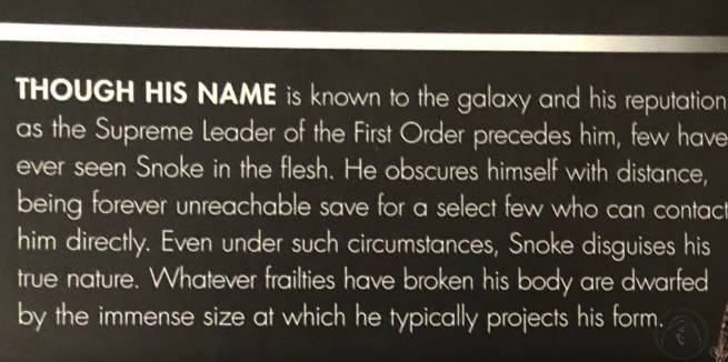 Star Wars Snoke Alive Power Theory