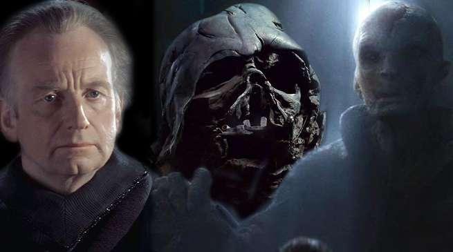 Star Wars Snoke Palpatine Connection Theories