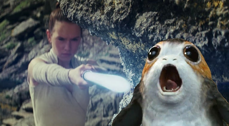 star-wars-the-last-jedi-daisy-ridley-porg-impression