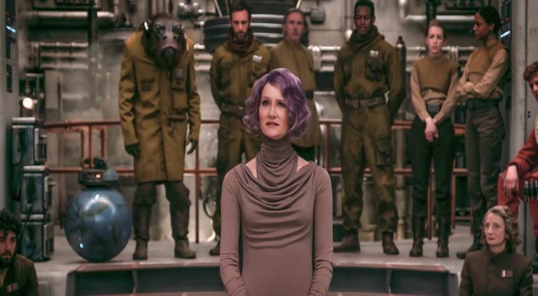 Star Wars The Last Jedi Holdo Laura Dern