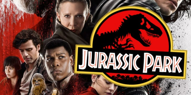 star wars the last jedi jurassic park