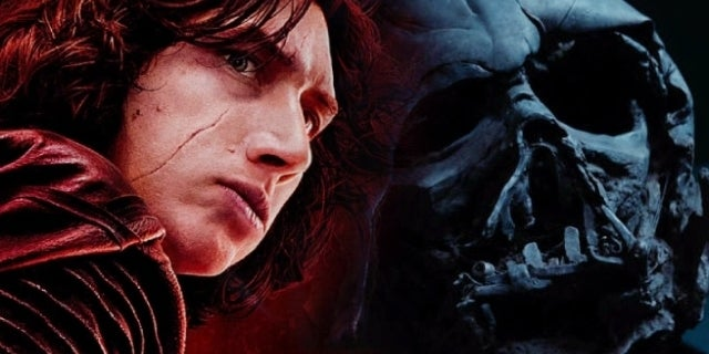 star wars the last jedi kylo ren darth vader