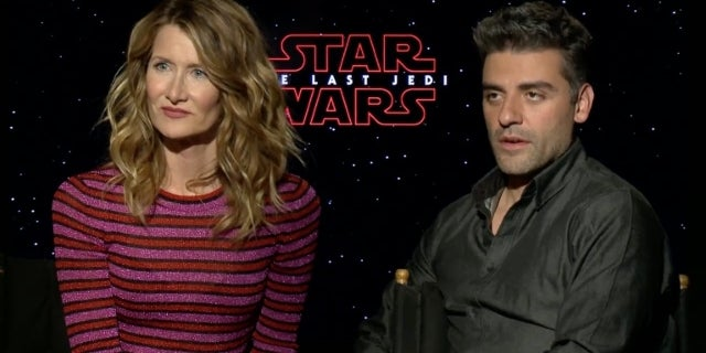 star-wars-the-last-jedi-laura-dern-oscar-isaac-talk-holdo