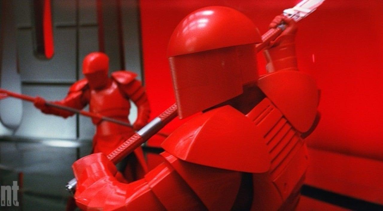 How The Praetorian Guard Armor Blocks Lightsabers In Star Wars The