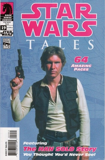 Star Wars Tales #19 with Harrison Ford photo cover