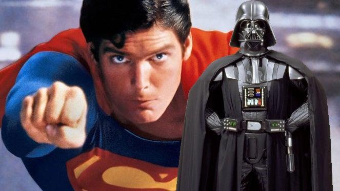 superman christopher reeve darth vader