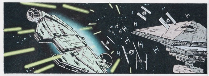 Sean Gordon Murphy draws Star Wars Millennium Falcon