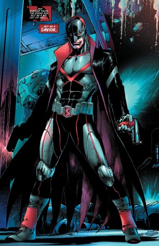 Tim Drake Gets A New Costume And Codename
