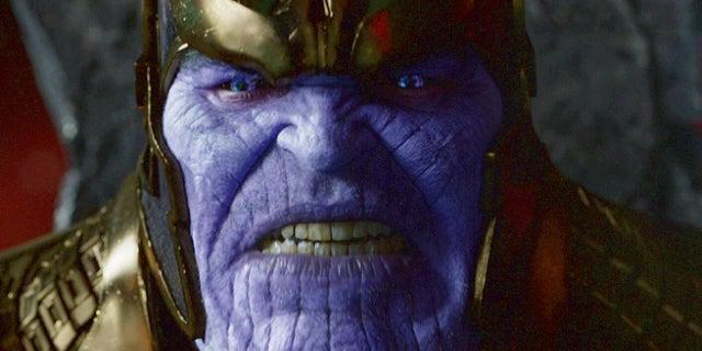 Thanos Costume Helmet MCU