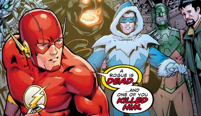 The Flash #36 Review - Cover