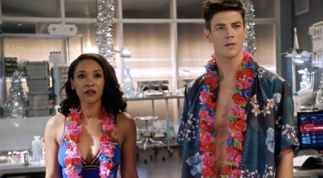 the flash don't run westallen honeymoon