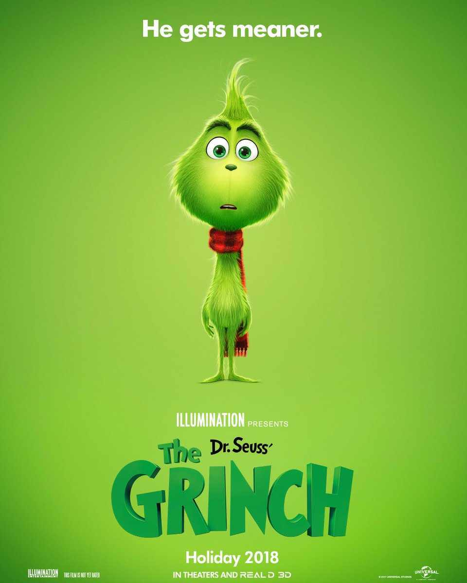 the grinch 2018 poster