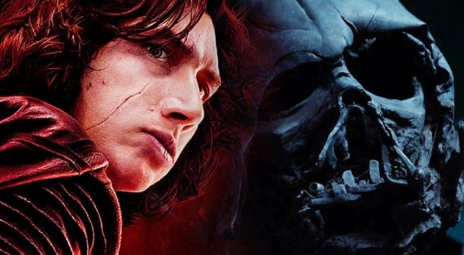 the last jedi kylo ren darth vader star wars
