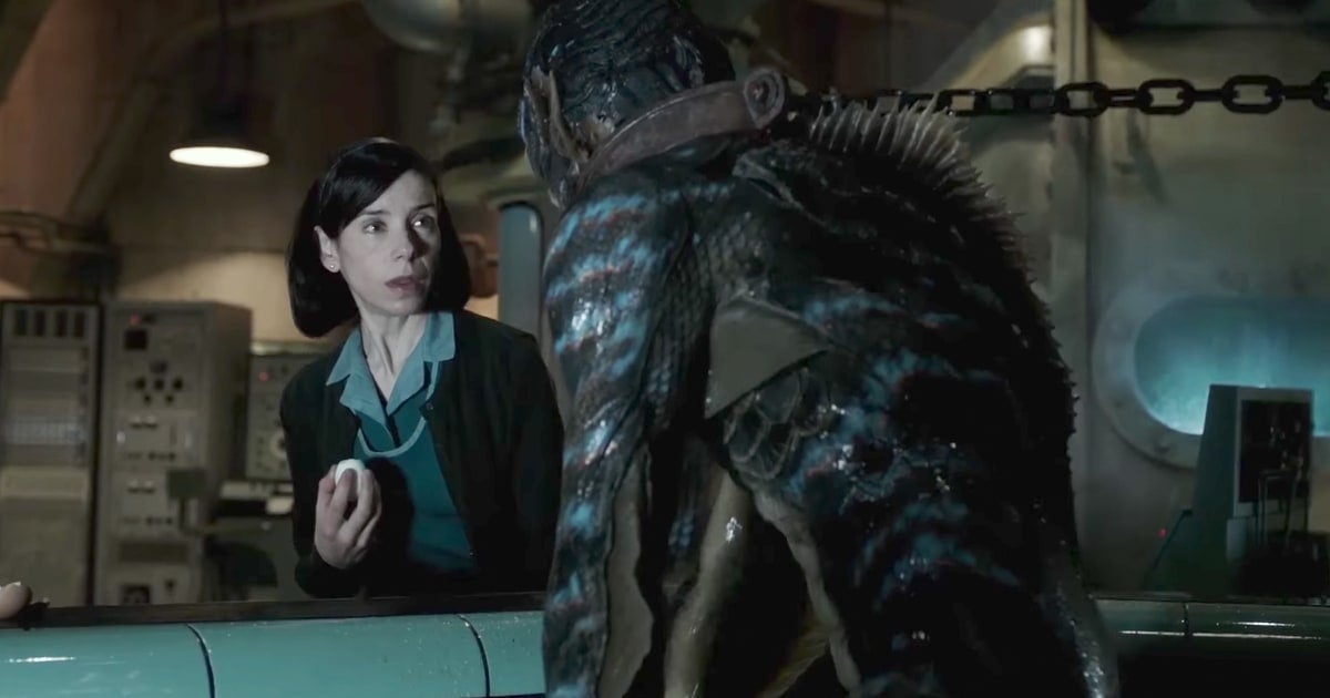 the shape of water movie sally hawkins creature
