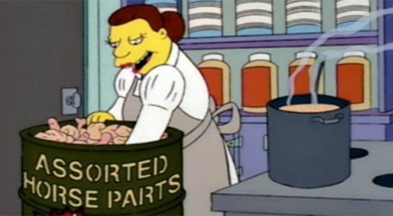 the-simpsons-horse-meat