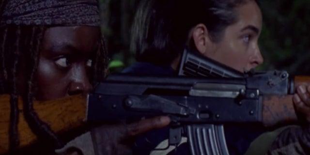 The Walking Dead Michonne Tara