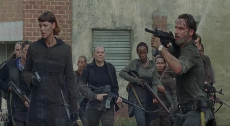The Walking Dead Rick Jadis