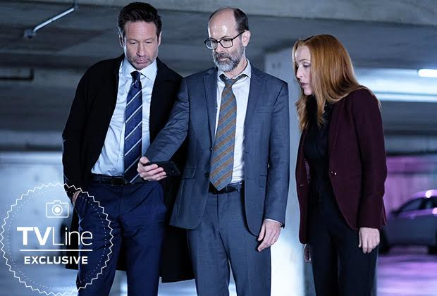 the x-files season 11 david duchovny gillian anderson darin morgan