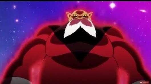Toppo God of Destruction Power Up