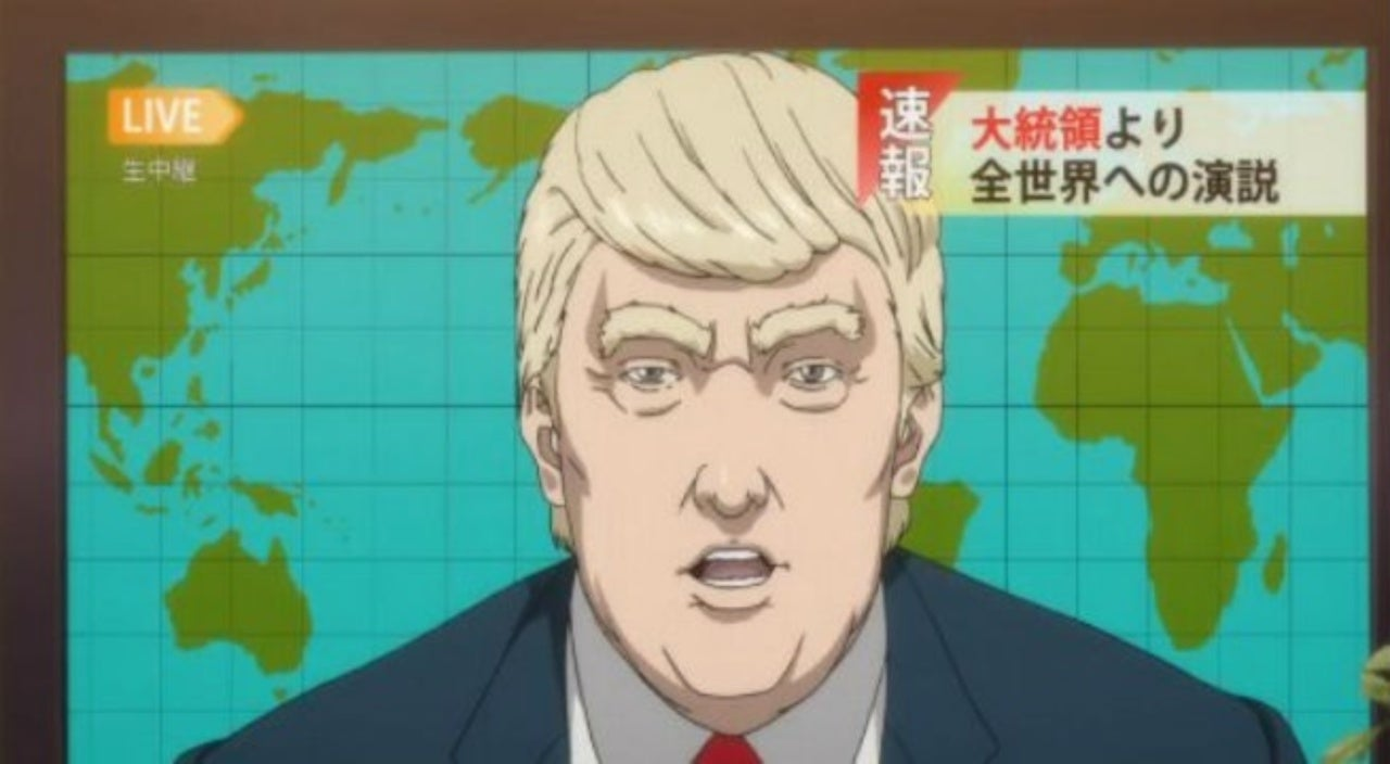 Inuyashiki Just Roasted Donald Trump