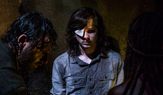 TWD Carl Dying 808