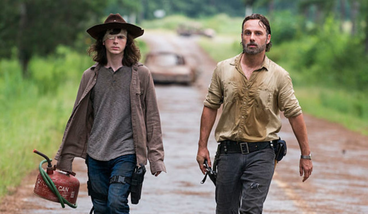 Did A Whisperer Bite Carl On 'The Walking Dead'?