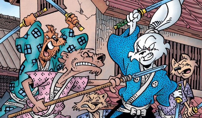 Usagi Yojimbo #164 - Cover
