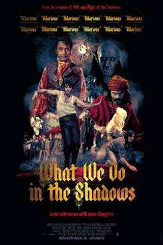 What We Do in the Shadows movie poster image