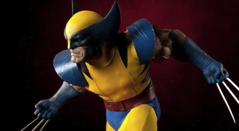 Wolverine Statue Fort McMurray Canada