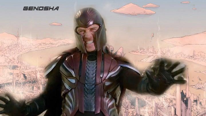 X-Men Dark Phoenix Magneto Genosha