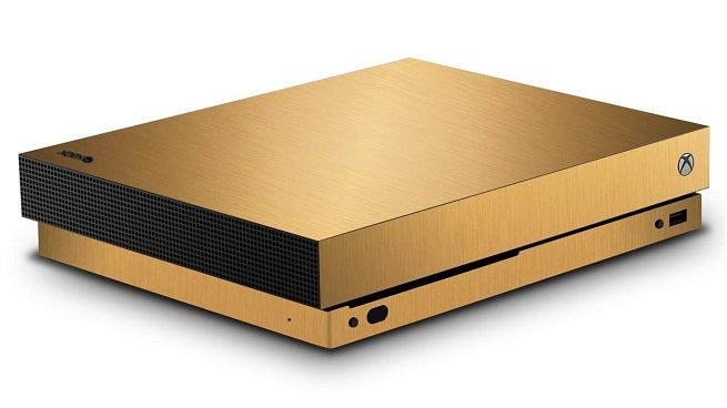 Xbox One X Scorpio Gold