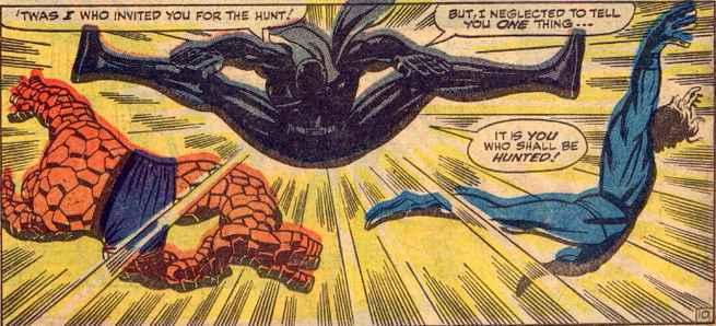 9 - 10 Best Black Panther Comics - Fantastic Four 52