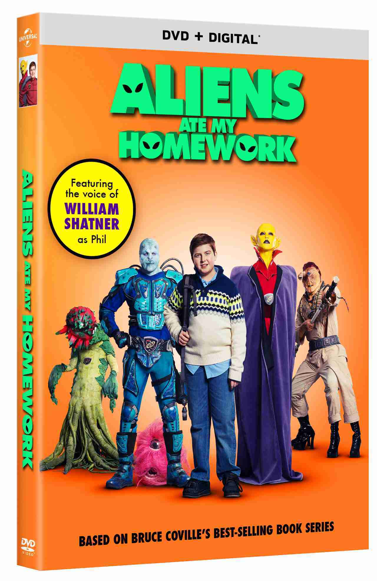 Aliens Ate My Homework DVD Cover