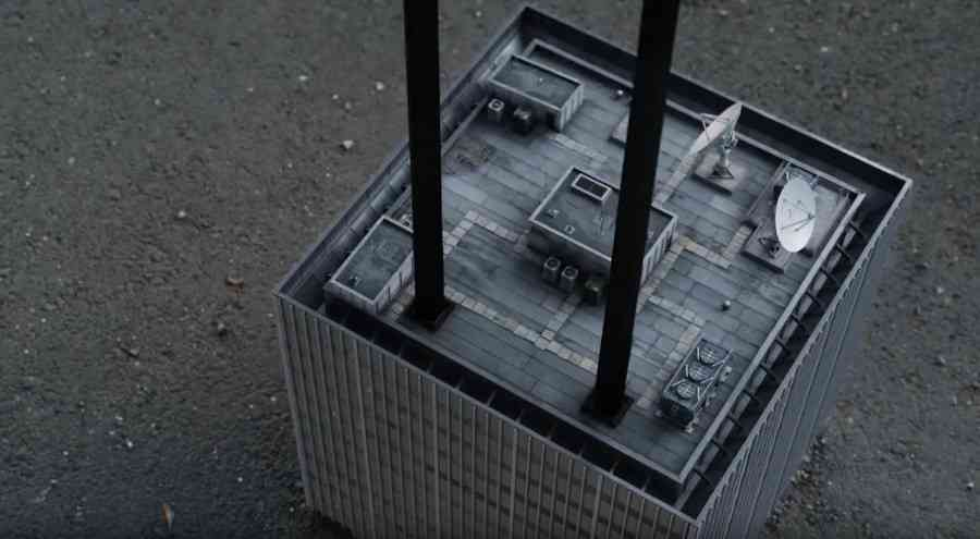 Ant-Man and the Wasp Shrinking Building