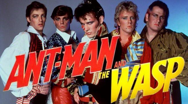 Ant-Man and the Wast Adam and the Ants Invasion Easter Egg