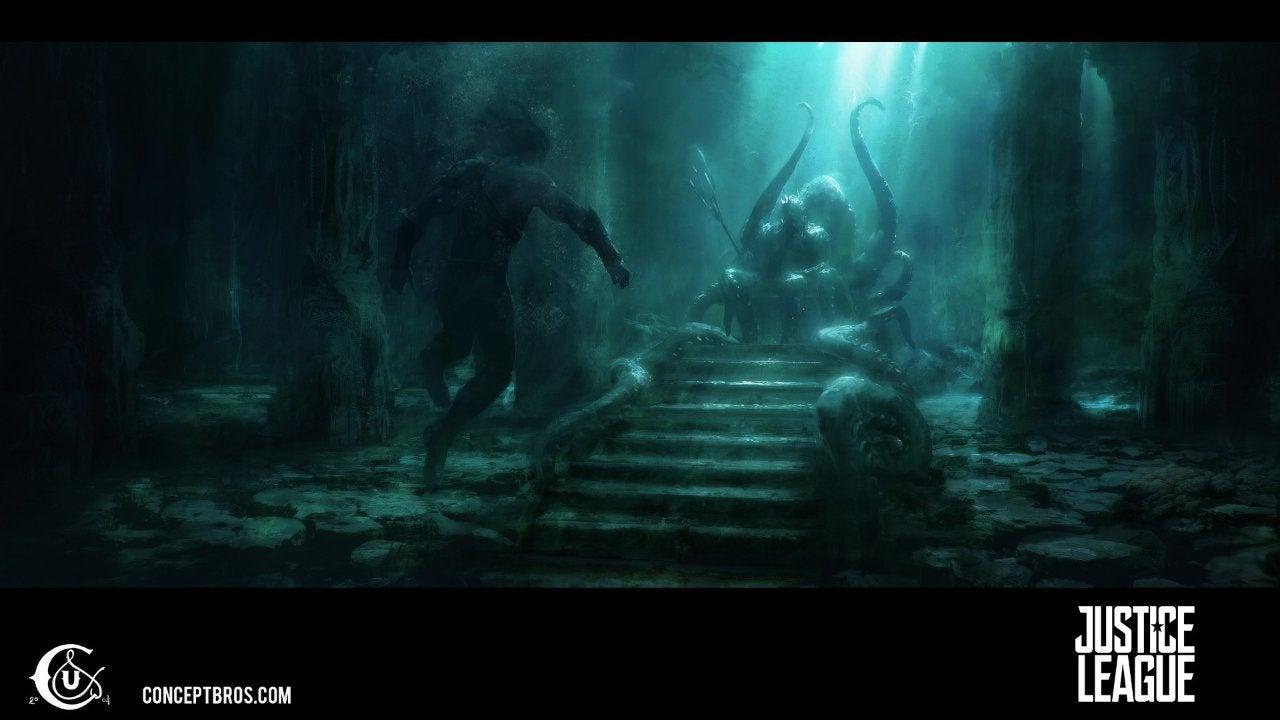 Aquaman Justice League Dead King