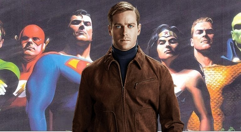 Armie Hammer Justice League Mortal