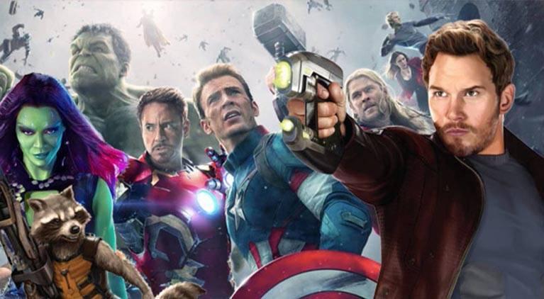 avengers infinity war guardians marvel
