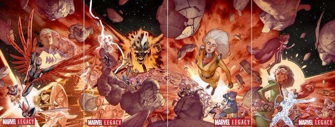 Avengers No Surrender - Covers
