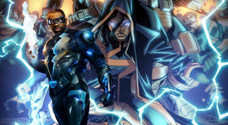 Black Lightning Static Shock comicbookcom
