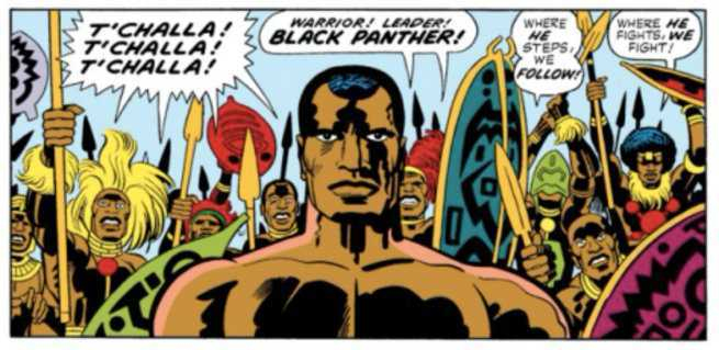 Black Panther Creator Jack Kirby - Tribal
