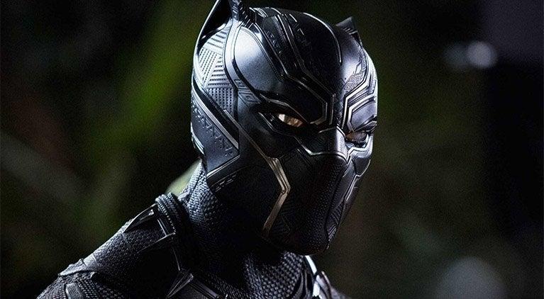 black panther disney pin
