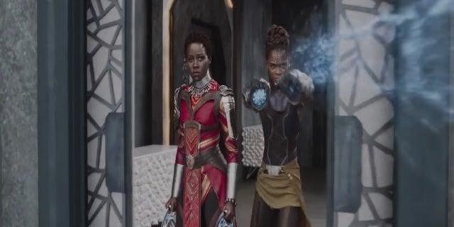 Black Panther Lupita Nyongo Letitia Wright