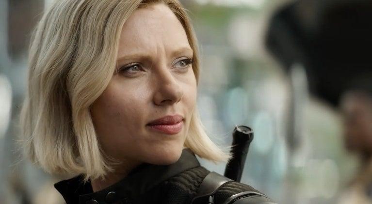 Black Widow Infinity War