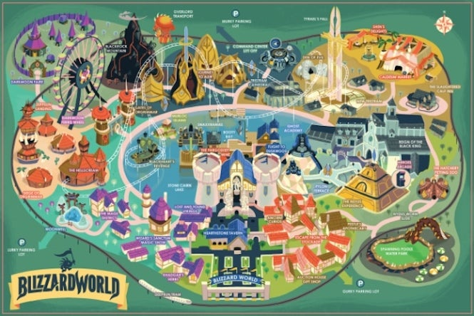 Buy An Overwatch Blizzard World Map Of Your Very Own