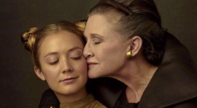 carrie-fisher-grammy-award-billie-lourd-tribute
