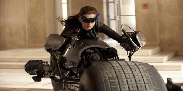 Catwoman batpod