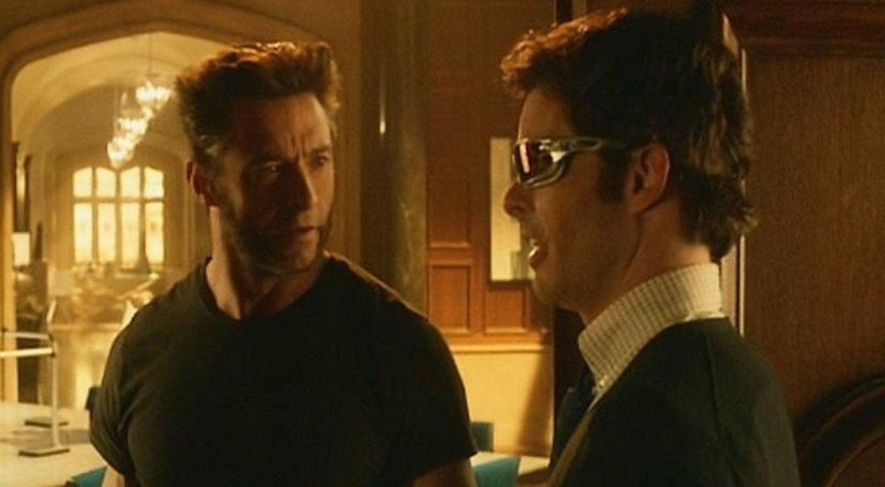 a497648d10 Hugh Jackman Reunites With  X-Men  Co-Star James Marsden