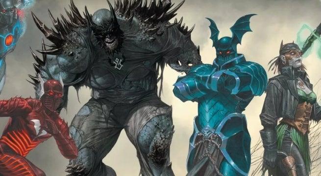 dark knights metal evil batmen